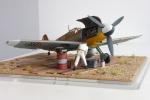 Messerschmitt Bf 109 G-2/Trop W.Nr. 10610 im Maßstab 1:32