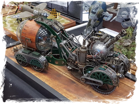 Modeon Model Show 2018 Science Fiction