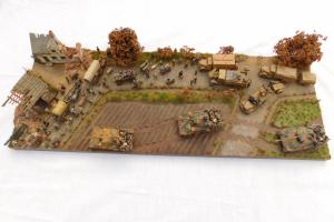 militärische Dioramen
