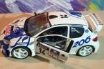 Peugeot 206 WRC 1:24