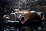 Ford '29 Model A RatRod in 1:25