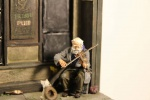 "Zinnfigur ""The old Fiddler"" 54mm"