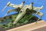 X-Wing Fighter im Maßstab 1:110