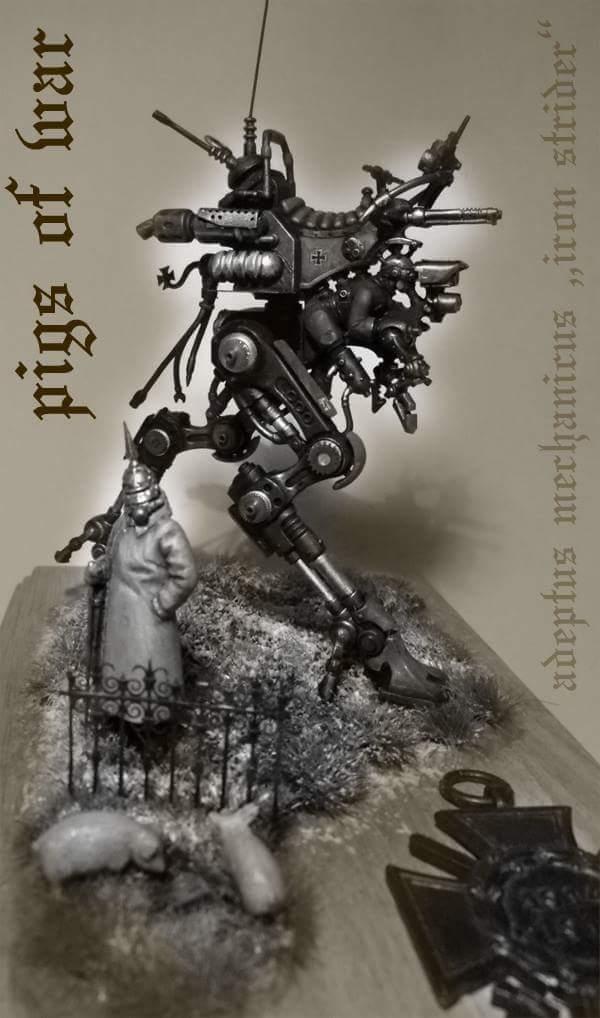 Adeptus Mechanicus Iron Strider in 1:48