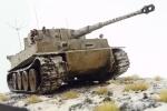 Tiger I Ausf.E als Wittmann`s Command Tiger im Maßstab 1/35